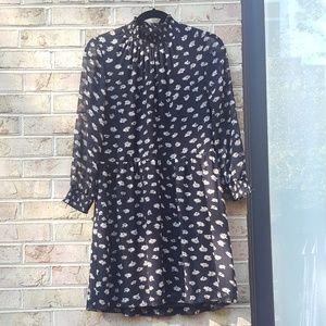 Madewell Dresses - Madewell Mistlight Mockneck Dress